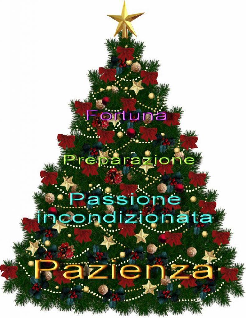 Un albero di Natale da scrittori