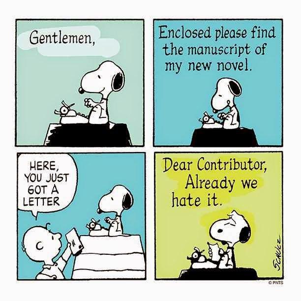 Il viaggio del manoscritto di Snoopy