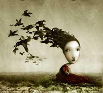 La depressione disegnata da Nicoletta Ceccoli
