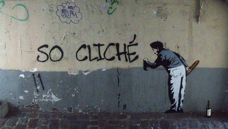 """murales """"so cliché"""""""