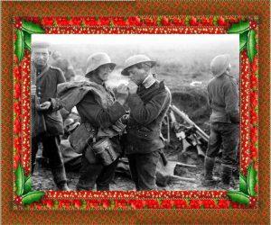 Dalla vita di trincea del 1914 nasce la tregua di Natale.