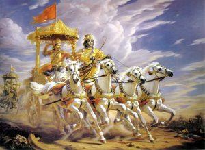L'aspirante scrittore a volte fa sogni di gloria, e si sente come Arjuna prima della battaglia...