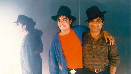 Deepak Chopra insieme a Michael Jackson