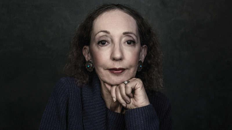 Joyce Carol Oates ci esorta ad avere coraggio