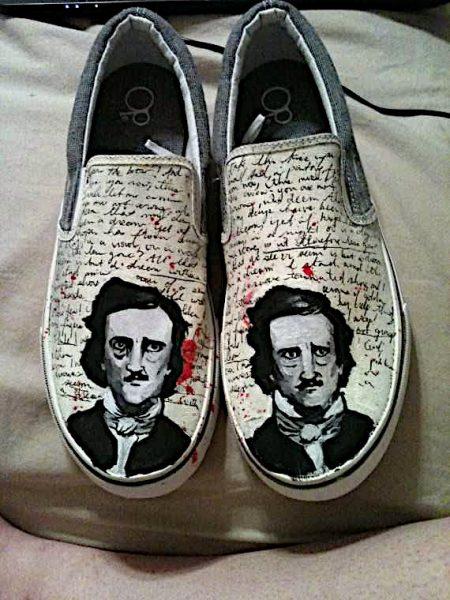scarpette Edgar Allan Poe