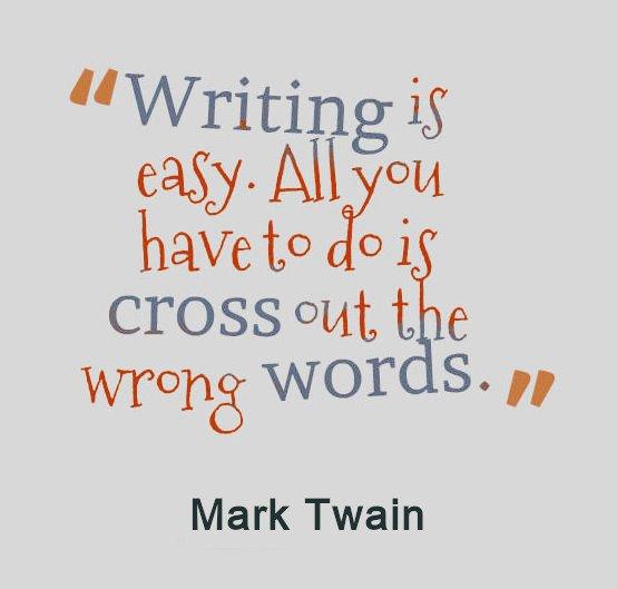La revisione del romanzo è fatta soprattutto di eliminazioni...