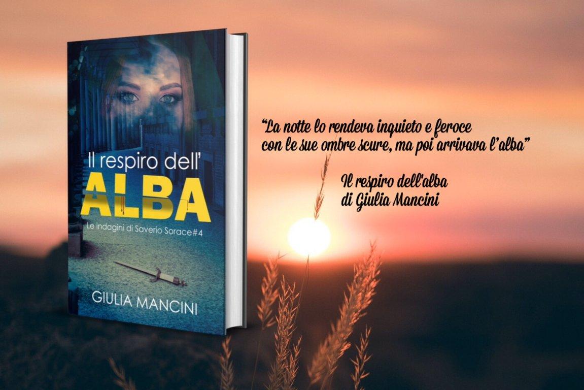 """Giulia Mancini è autrice de """"Il respiro dell'alba"""""""