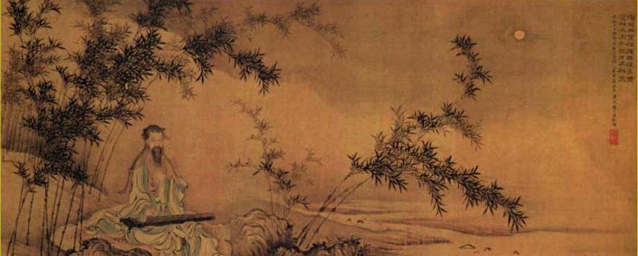 Il saggio governante dovrebbe trascorrere molto tempo a meditare sulla riva del fiume.