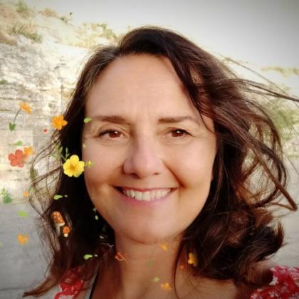 La scrittrice Elena Ferro
